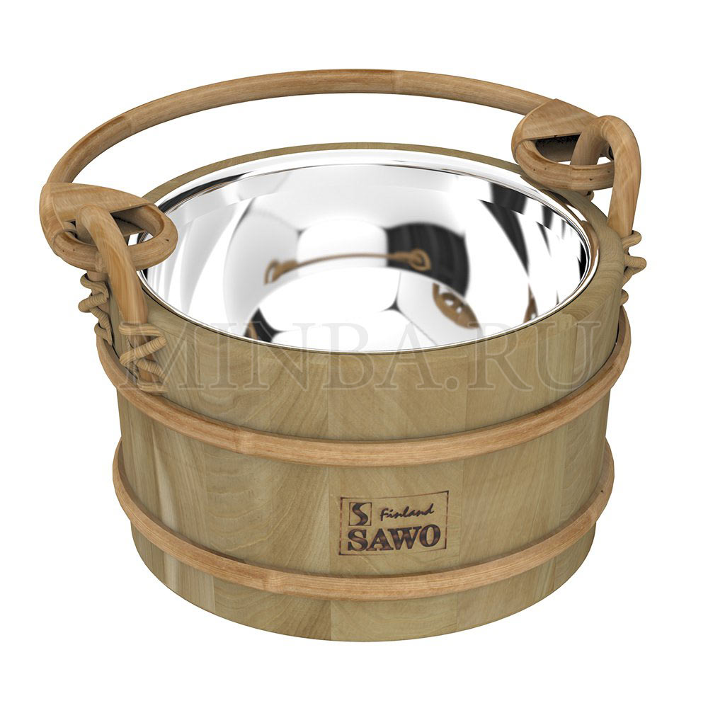 Ведро для сауны из кедра 3л Sawo