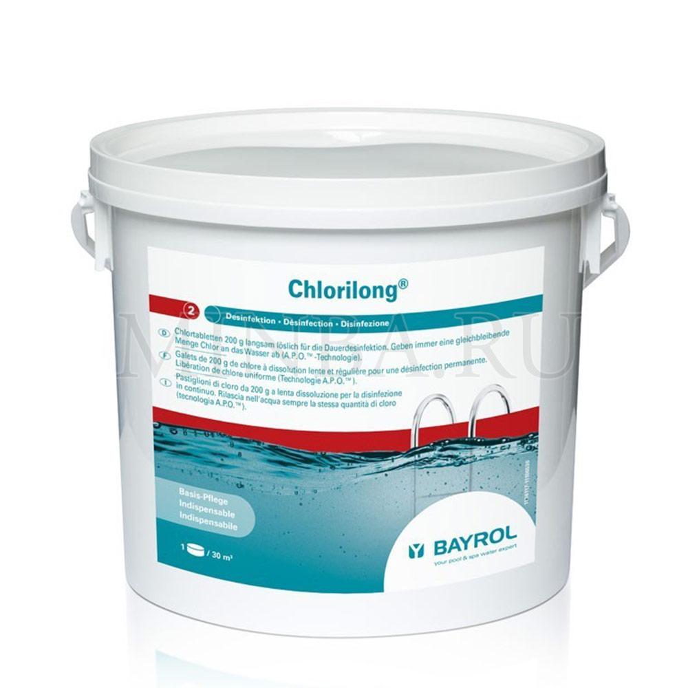 Хлорилонг (Chlorilong) Bayrol 5 кг