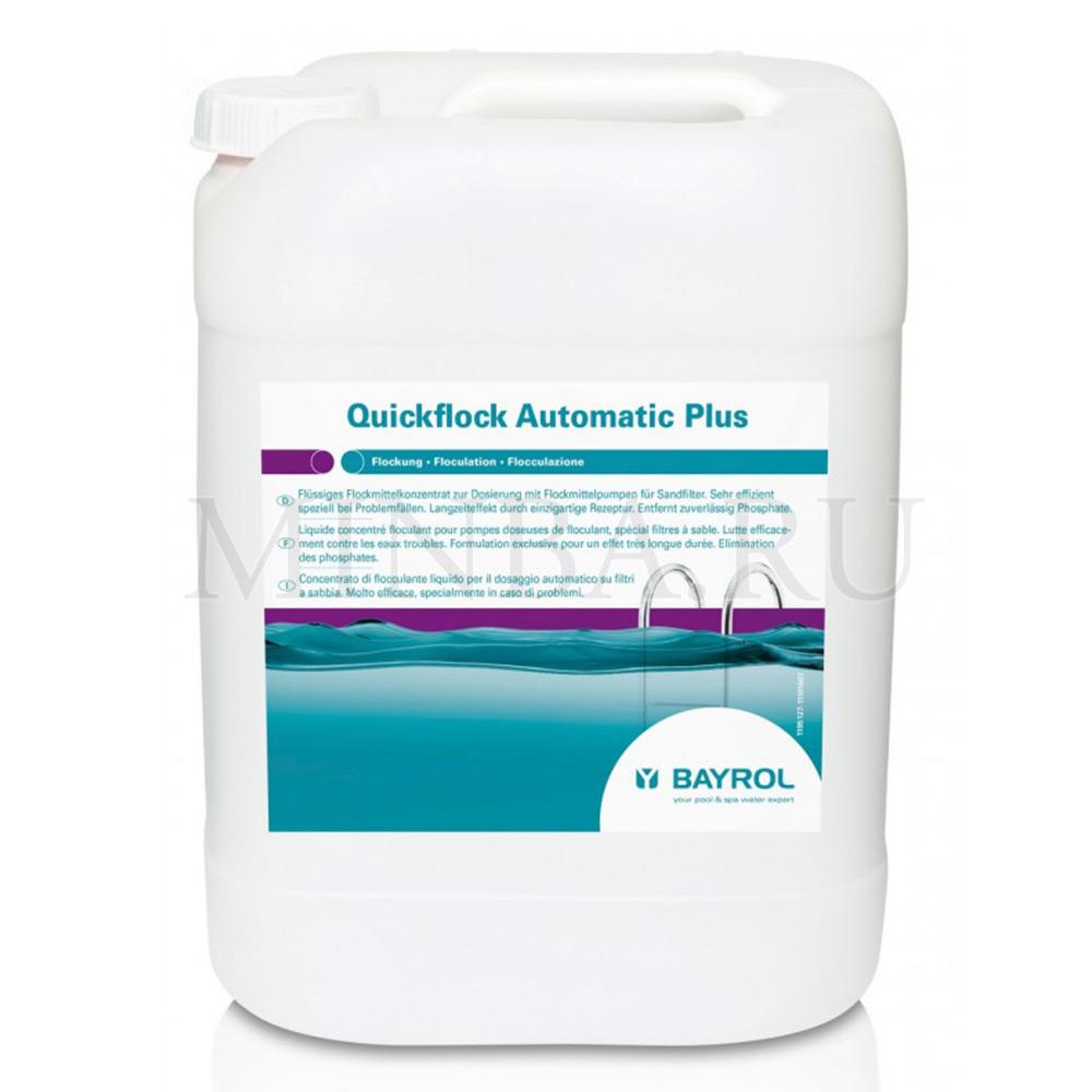 Куикфлок автомат (Quickflock automatic Plus) с лантаном Bayrol 20 л
