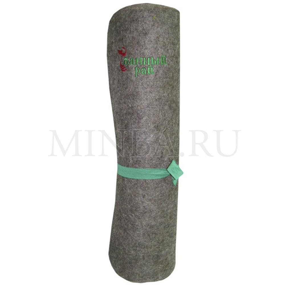 Коврик-лежак 180x60 серый