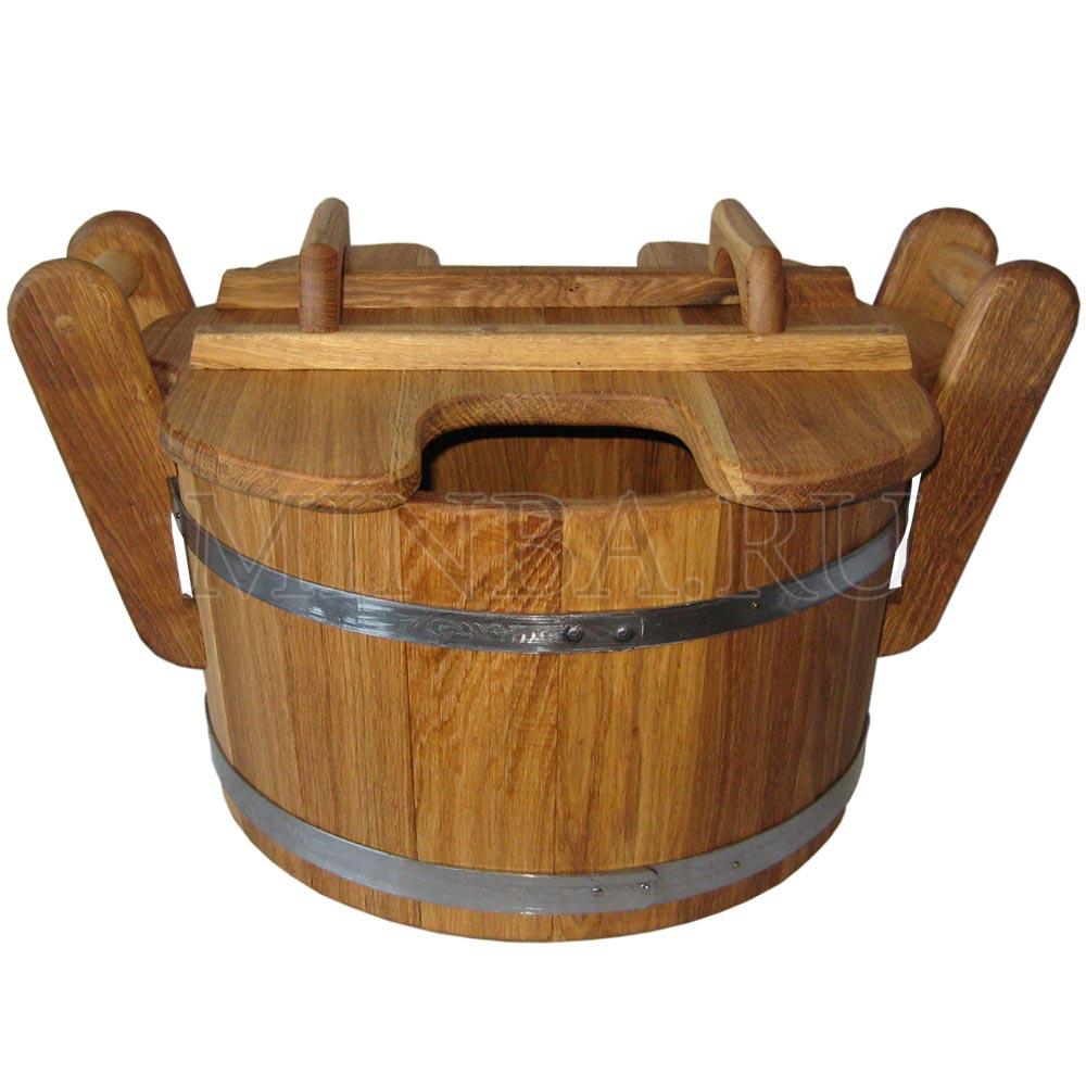 Запарник для бани (23л дуб)